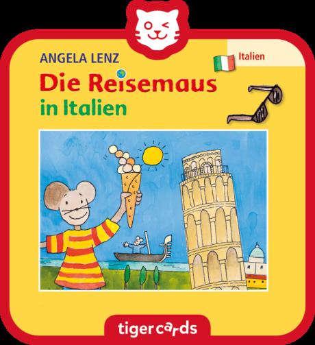 Coverbild - tigercard - Die Reisemaus: in Italien