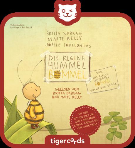 Coverbild - tigercard - Die kleine Hummel Bommel: sucht das Glück