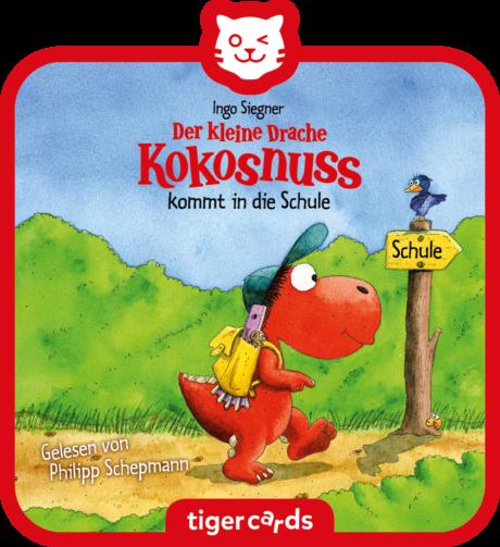 Coverbild - tigercard - Der kleine Drache Kokosnuss: Kommt in die Schule