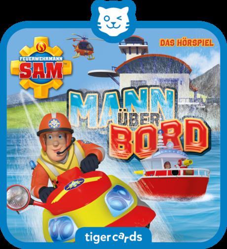Coverbild - tigercard - Feuerwehrmann Sam: Mann über Bord