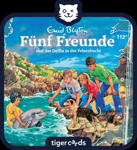 Coverbild - tigercard - Fünf Freunde: Und der Delfin in der Felsenbucht