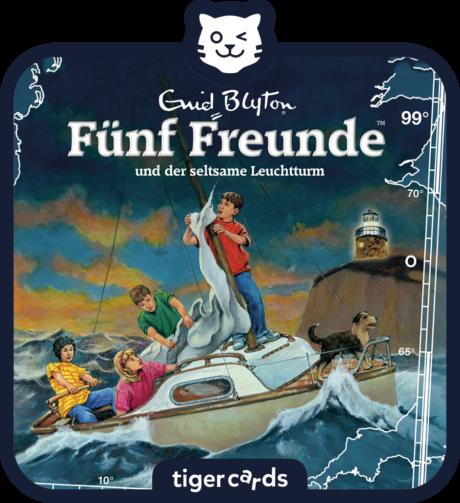 Coverbild - tigercard - Fünf Freunde: Und der seltsame Leuchtturm