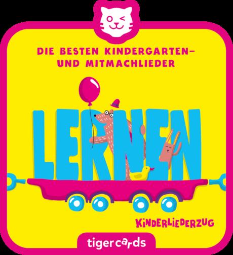 Coverbild - tigercard - Kinderliederzug: Die  besten Kindergarten- und Mitmachlieder – Lernen