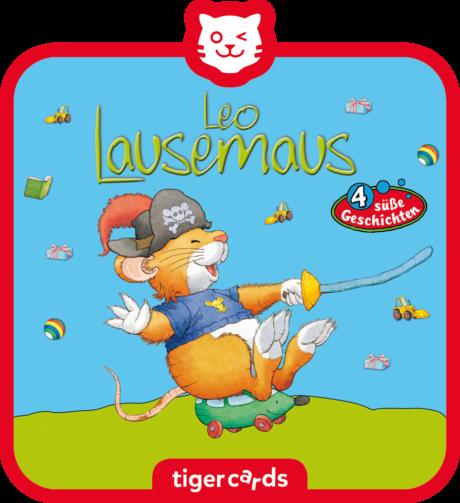 Coverbild - tigercard - Leo Lausemaus: Will nicht draußen spielen und drei weitere süße Geschichten