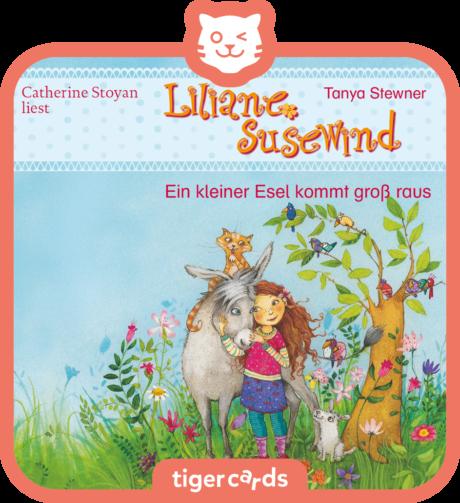 Coverbild - tigercard - Liliane Susewind: Ein kleiner Esel kommt groß raus
