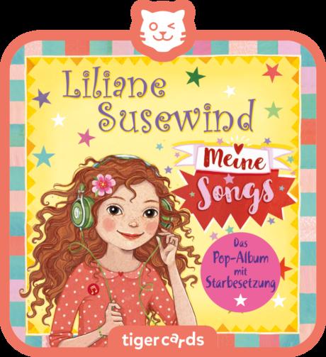 Coverbild - tigercard - Liliane Susewind: Meine Songs