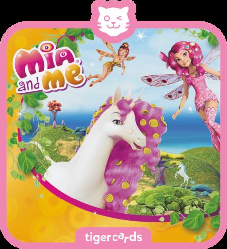 Coverbild - tigercard - Mia and me: Hochzeit bei den Einhörnern