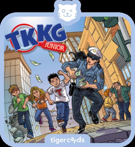 Coverbild - tigercard - TKKG Junior (6): Bei Anruf Abzocke