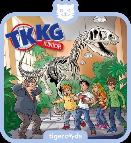 Coverbild - tigercard - TKKG Junior (5): Die Dino-Diebe