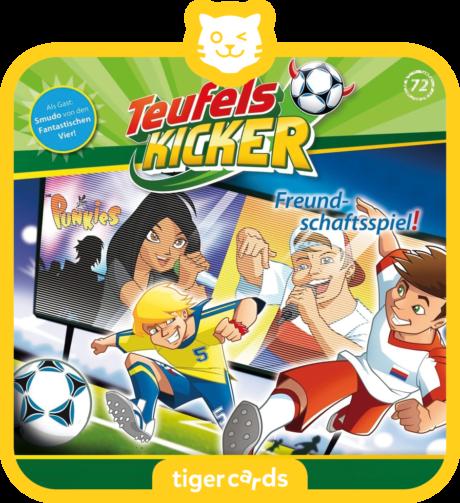 Coverbild - tigercard - Teufelskicker (72): Freundschaftsspiel!