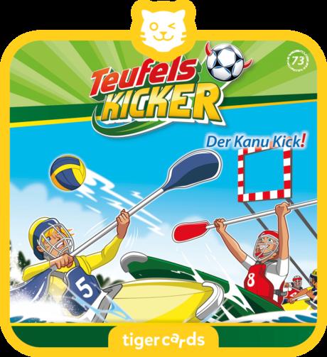 Coverbild - tigercard - Teufelskicker (73): Der Kanu-Kick!